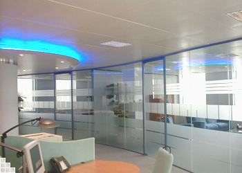 glass partition office walls ideas partition wall office